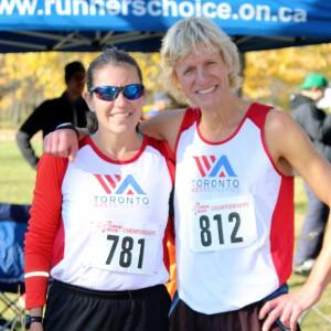 Masters running Cross-country raceMasters running club toronto