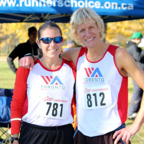 Masters running Cross-country raceMasters running club toronto