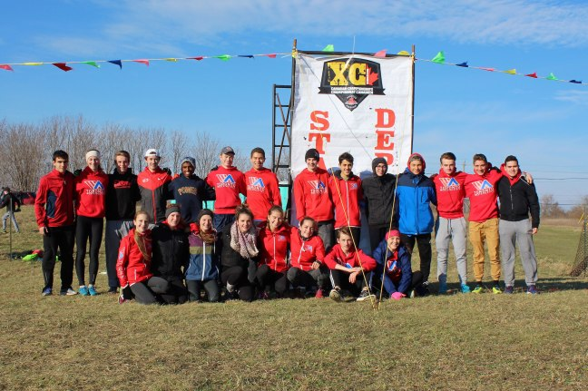 Toronto Running club at XC National CHampionship