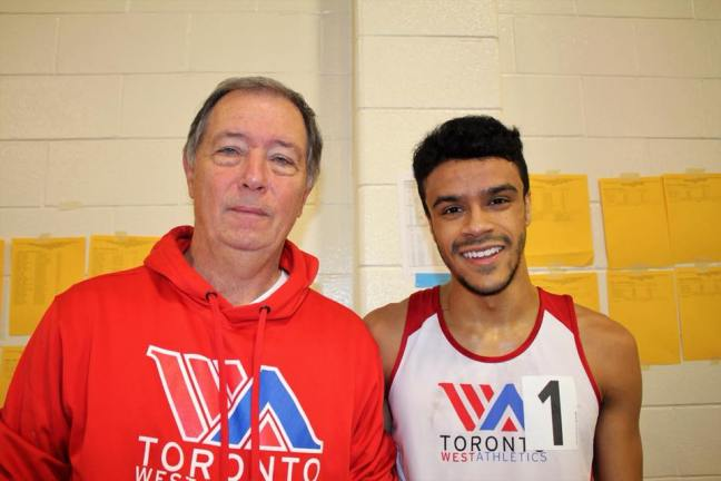 Athletics Ontario indoor meet