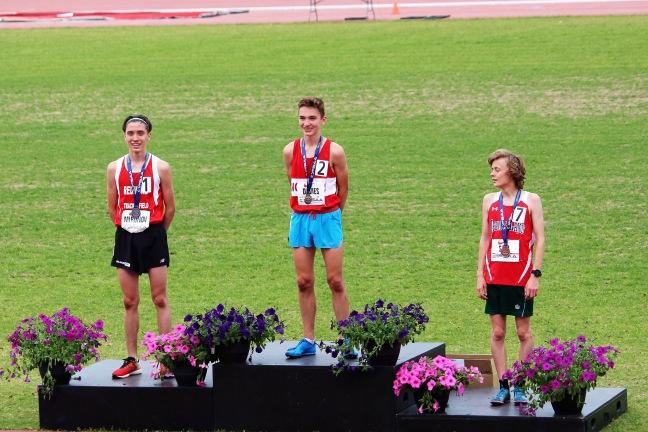 3000 meters OFSAA winners midget boys