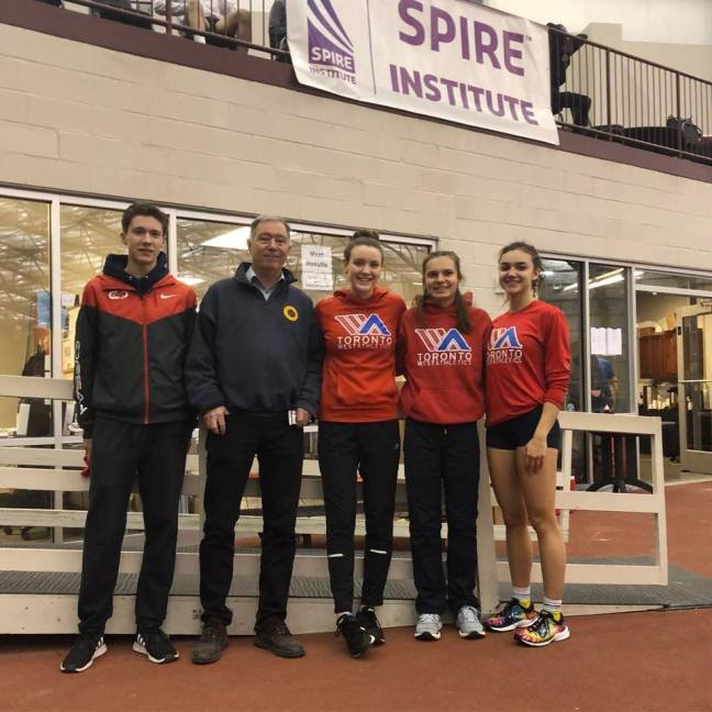 Toronto Running Club indoor meet