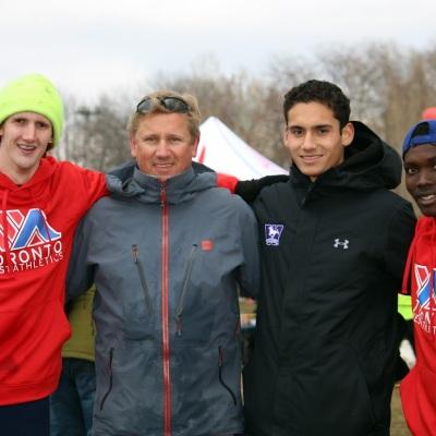 Toronto west athletics coach Gary